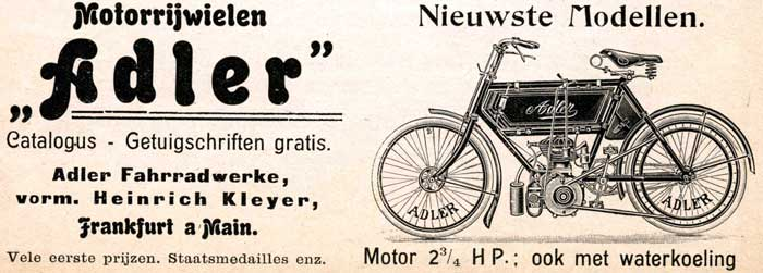 Adler 1905 kleyer