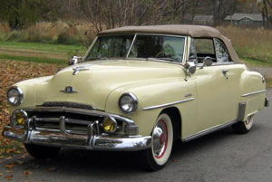 Plymouth Convertible 1951