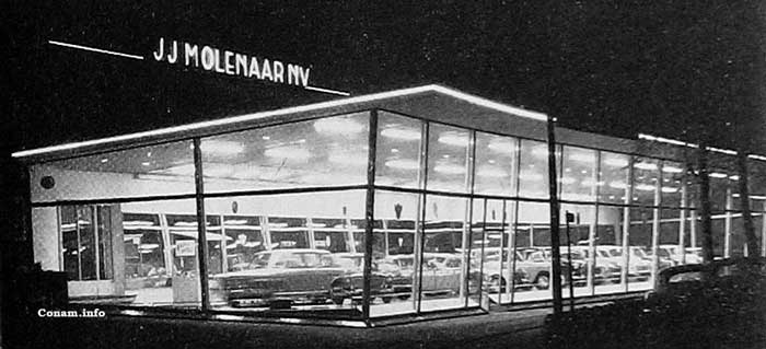 Molenaar showroom 1965