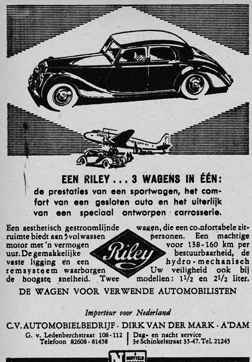 Riley 19481110 dirk mark