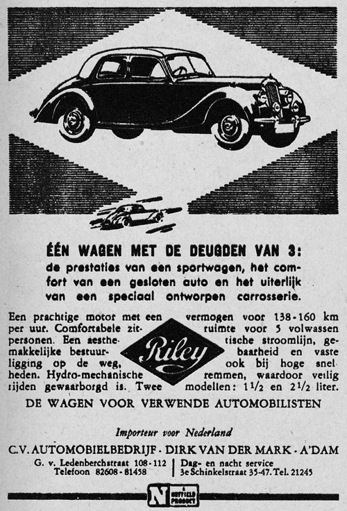 Riley 19481117 dirk mark