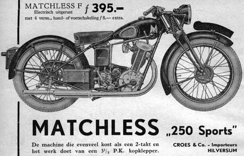 Matchless 35pk 1934 croes