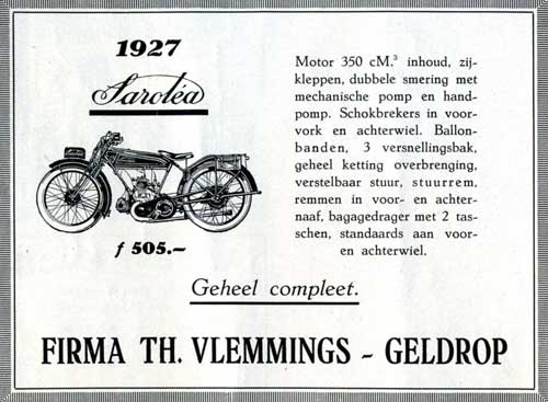 Sarolea 1927 05 04 vlemmings