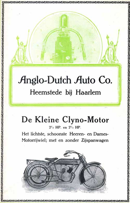 clyno 1915 anglo dutch 2