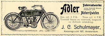 Adler advertentie