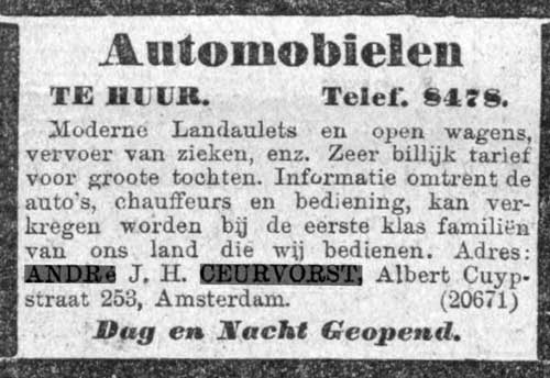 ceurvorst-advertentie-juni-1909