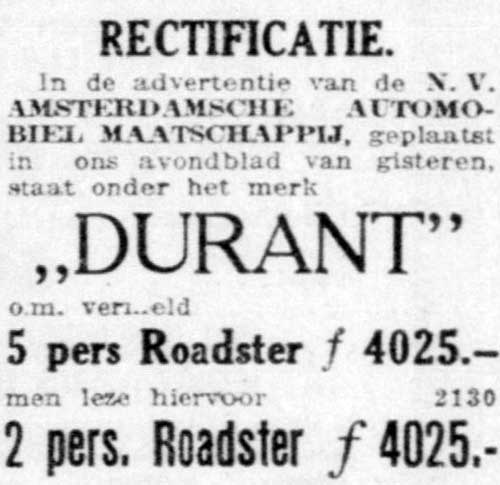 Durant 1924 10 31 aam