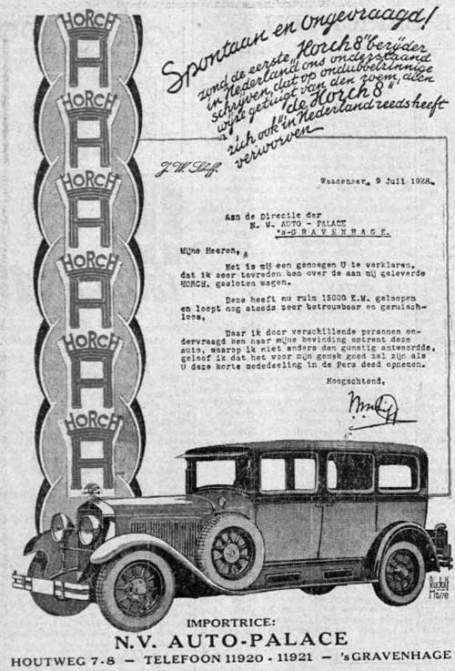 Horch 19280807 auto palace