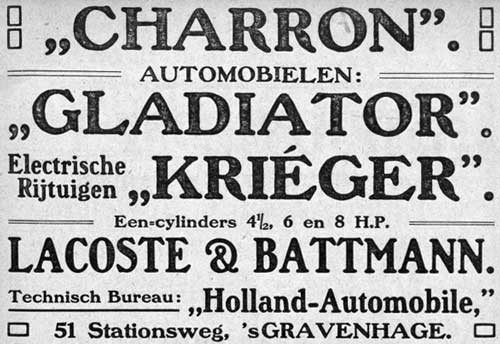 Charron 19061102 holland automobile