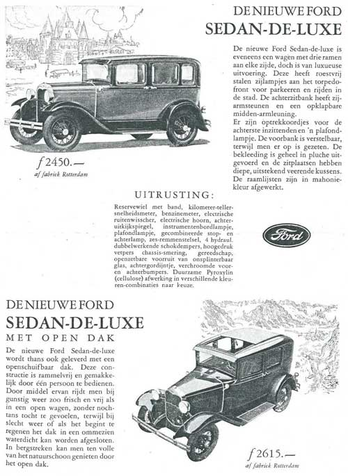 Ford 19280000 ford rotterdam