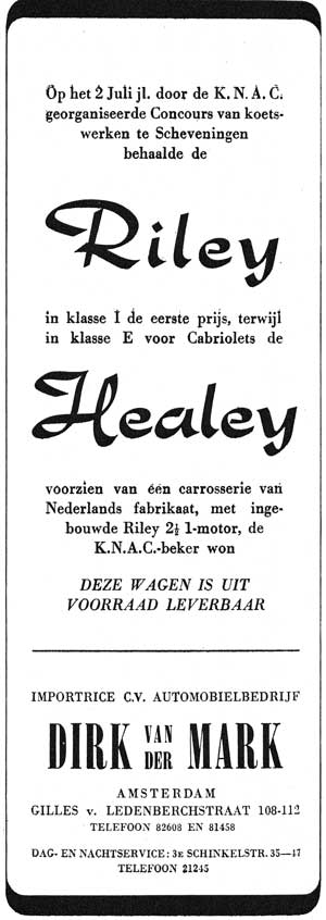 Healey riley 19490803 dirk mark