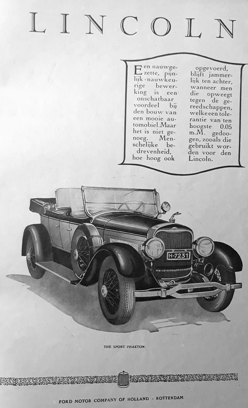 Lincoln 19280000 ford