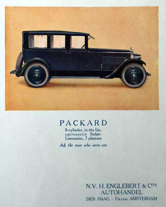 Packard 19260000 englebert