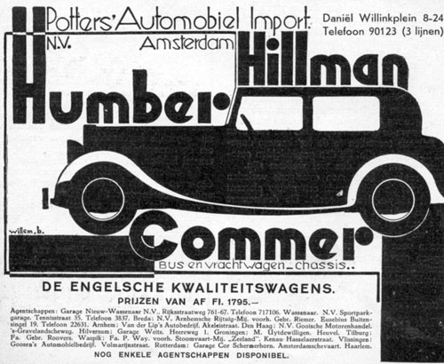 Hillman Humber Commer 19330504 potters